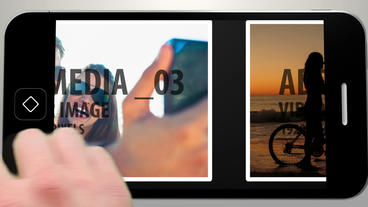 Smart Phone Image Display After Effects Template