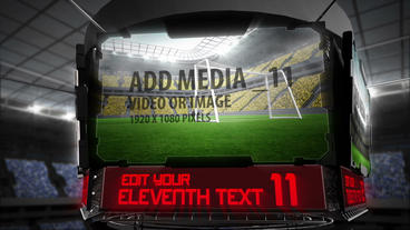 Stadium Screens After Effects Project