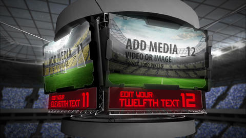 Stadium Screens After Effects Template