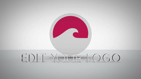 3d Target Logo After Effects Template
