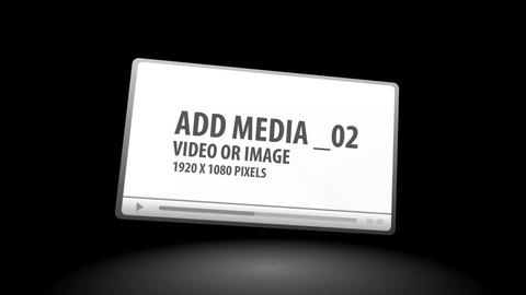 Media Player Panels After Effects Template