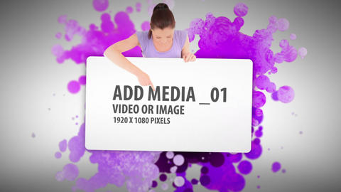 Paint ball Media Sequence After Effects Template