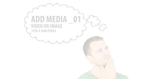 Media Thought Bubbles (5) After Effects Template