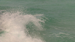HD2009-4-8-2 waves crashing Stock Video Footage