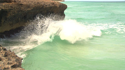 HD2009-4-8-12 waves crashing Stock Video Footage
