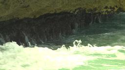 HD2009-4-8-16 waves crashing Footage