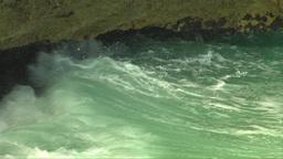 HD2009-4-8-20 waves crashing slo mo Stock Video Footage