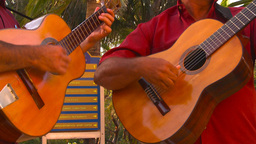 HD2009-4-9-1 guitars Stock Video Footage