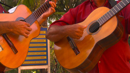 HD2009-4-9-1 guitars Stock Video Footage