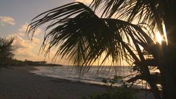 HD2009-4-9-9 sunset beach Stock Video Footage