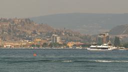 HD2009-8-1-6 Kelowna skyline and lake x2 Footage
