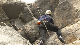 HD2009-8-3-3 rock climbing Footage