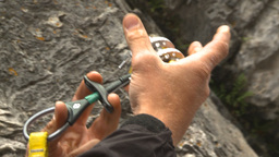 HD2009-8-4-6 rock climbing demoing cam Footage