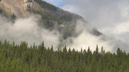 HD2009-8-8-13 clouds and mtns TL Stock Video Footage