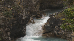 HD2009-8-10-5 gorge river Stock Video Footage