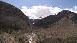 HD2009-8-10-21 glacier valley Stock Video Footage