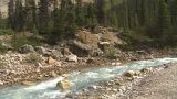 HD2009-8-10-25 River Valley Mountains Tilt stock footage