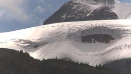 HD209-8-11-4 glacier snap zoom Stock Video Footage