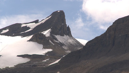 HD209-8-11-10 glacier and mountain Stock Video Footage