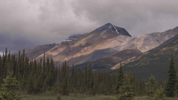 HD209-8-11-14 clouds over mountains TL Stock Video Footage