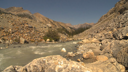 HD2009-8-21-10 mountain stream all rock Stock Video Footage
