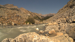 HD2009-8-21-10 mountain stream all rock Footage