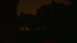 HD2009-8-22RC-12 night thunderstorm lightning Stock Video Footage
