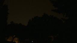 HD2009-8-22RC-16 night thunderstorm lightning forks Stock Video Footage