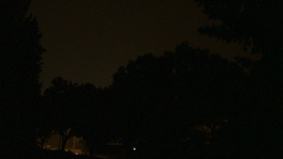 HD2009-8-22RC-18 night thunderstorm lightning forks Stock Video Footage