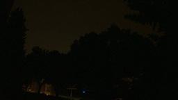 HD2009-8-22RC-20 night thunderstorm lightning Stock Video Footage