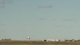 HD2009-8-43-2RC B737 takeoff LL Stock Video Footage