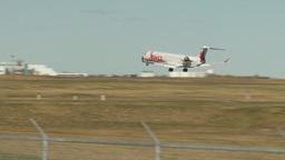 HD2009-8-43-4RC cfj landing Stock Video Footage