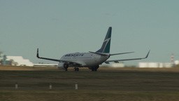 HD2009-8-43-10RC B737 take off Stock Video Footage