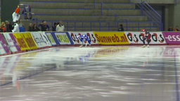 HD2009-12-1-2 Speed skating oval race LL Footage
