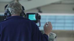 HD2009-12-1-62 broadcast TV cameraman Footage