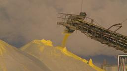 HD2009-2-1-33 sulfur pile steam Footage
