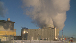 HD2009-2-1-51 power generation plant Stock Video Footage