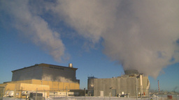HD2009-2-1-53 power generation plant Stock Video Footage