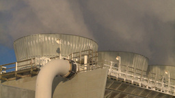 HD2009-2-1-57 power generation plant Stock Video Footage