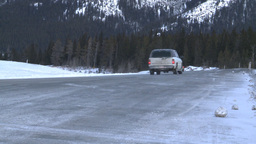 HD2009-1-1-10 highway traffic snow rd mtns Footage