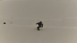 HD2009-1-5-15 snowbaord jump Stock Video Footage