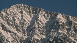 HD2009-1-6-15 snowy mtn Z Stock Video Footage