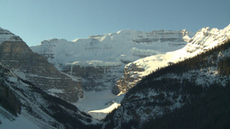 HD2009-1-6-21 Lake Louise icon shot cu glacier Stock Video Footage
