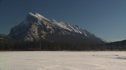 HD2009-1-6-31 Mt Rundle Stock Video Footage
