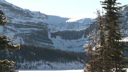 HD2009-1-7-23 bow glacier Stock Video Footage