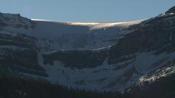 HD2009-1-8-11 glacier snow mtn z Stock Video Footage