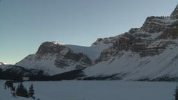 HD2009-1-8-13 Bow Glacier lake pan Stock Video Footage