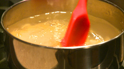 HD2009-1-9-9 pasta into boil Stock Video Footage