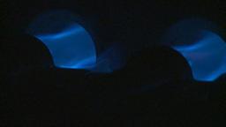 HD2009-1-9-13 gas furnace Stock Video Footage