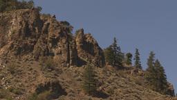 HD2009-7-1-43 arid dry hillside Stock Video Footage